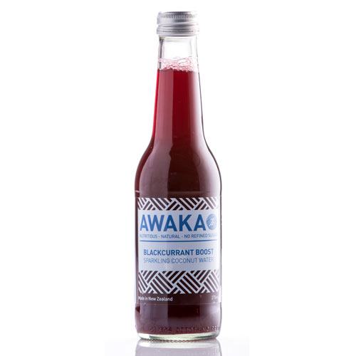Awaka coconut water blackcurrant boost