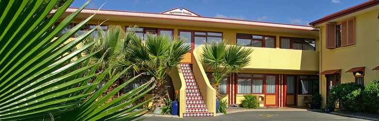 Paradiso Apartments Motel, Nelson New Zealand